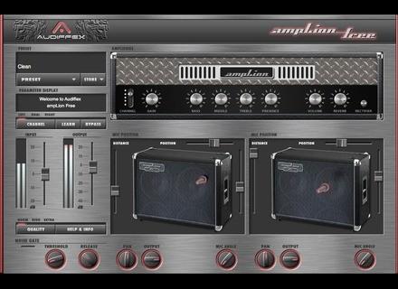 Audiffex ampLion Free