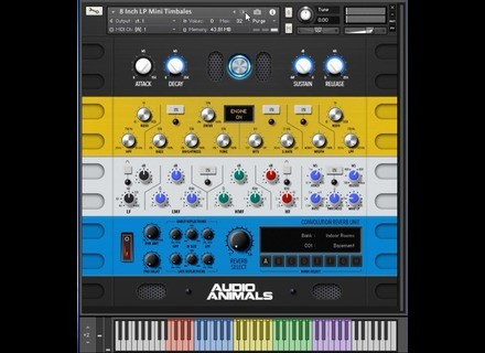 Audio Animals Studio Percussion Bundle