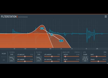 Audio Damage Filterstation 2