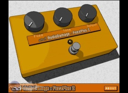 Audio Damage FuzzPlus2 [Freeware]