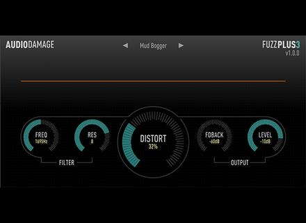 Audio Damage FuzzPlus3