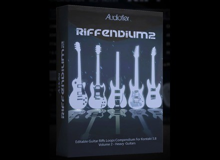 Audiofier Riffendium Volume 2: Heavy Guitars
