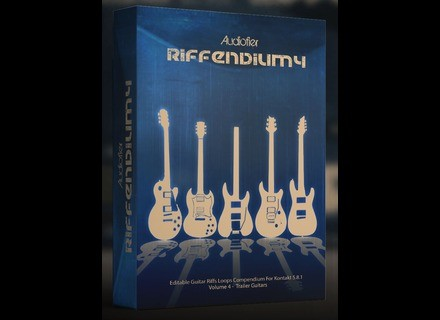Audiofier Riffendium Volume 4: Trailer Guitars