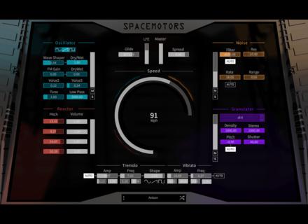 AudioGaming SpaceMotors