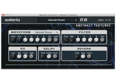Audiority Abstract Textures Plug-In