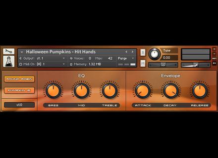 AudioThing Halloween Pumpkins