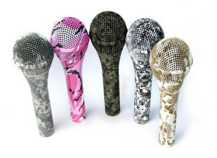 Audix Limited Edition Camo Mics