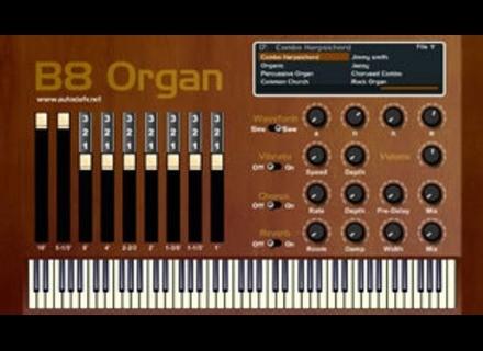 Autodafe B8 Organ