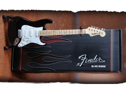 Axe Heaven Officially Licensed Miniature Classic Black Fender Strat Guitar Replica