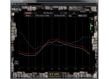 Ayaic Software Ceilings of Sound Pro