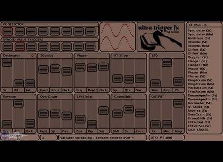 AZ Audio Ultra Trigger FX Pro
