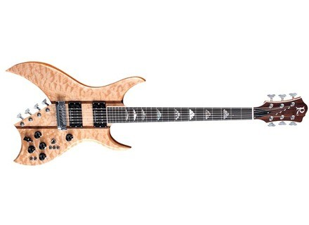 B.C. Rich Bich 10 Supreme - Natural Quilt Maple