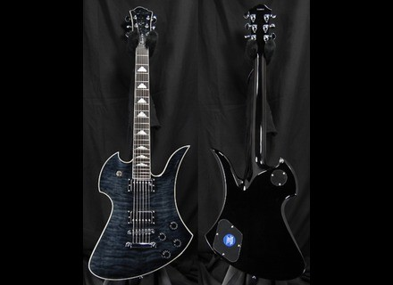 B.C. Rich Mockingbird Special X - Ghost Black