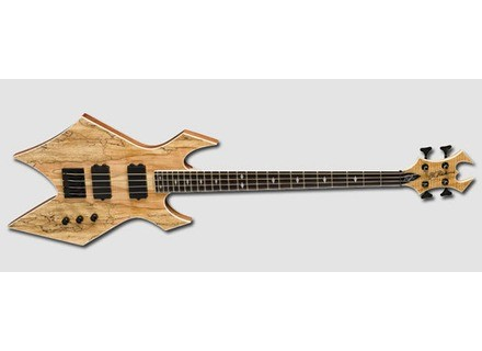 B.C. Rich Paolo Gregoletto 4 String Warlock Bass - Natural