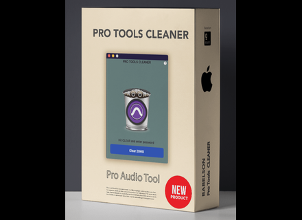 Babelson Audio Pro Tools Cleaner