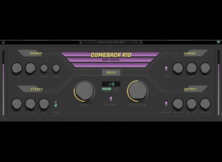 Baby Audio Comeback Kid