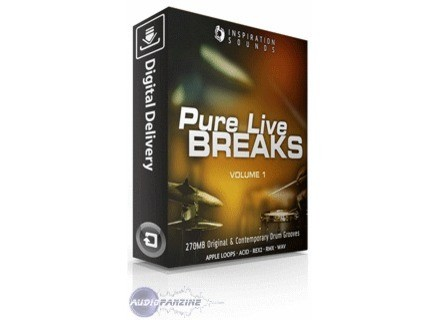 Bandmateloops Inspiration Sounds Pure Live Breaks Vol. 1