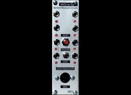 Barton Musical Circuits Midi to Gate
