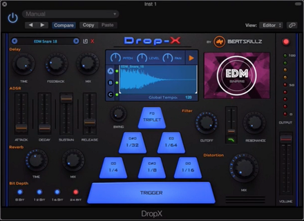 BeatSkillz Drop-X