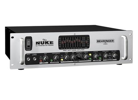 Behringer Ultrabass BVT25000H The Nuke
