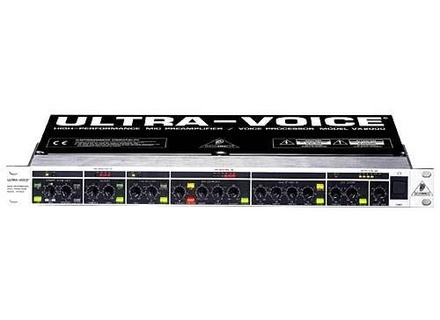 User Reviews Behringer Ultravoice Vx2000 Audiofanzine