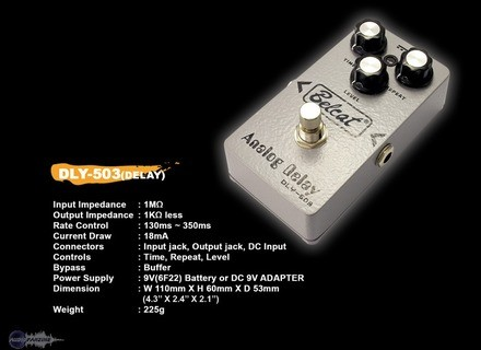 Belcat DLY-503 Analog Delay