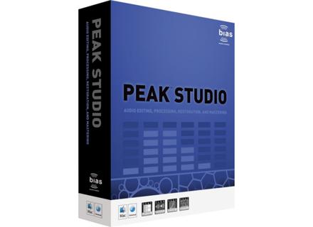 BIAS Peak Studio 7 LE