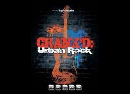 Big Fish Audio Crank'd Urban Rock