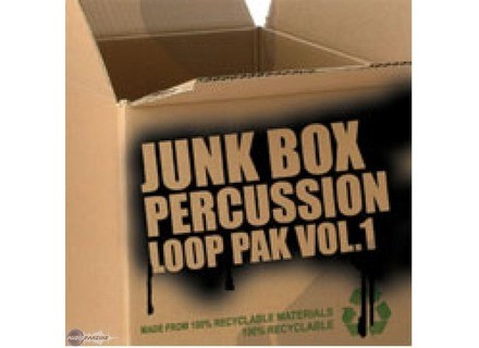 Big Fish Audio Junk Box Percussion Vol 1 and Vol 2
