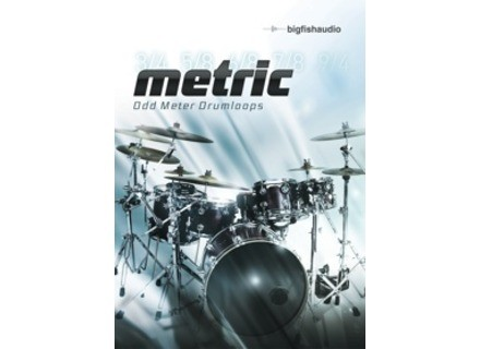 Big Fish Audio Metric: Odd Meter Drumloops
