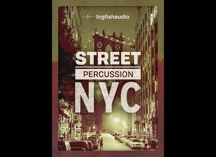 Big Fish Audio Street Percussion: NYC