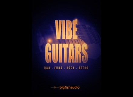 Big Fish Audio VIBE Guitars