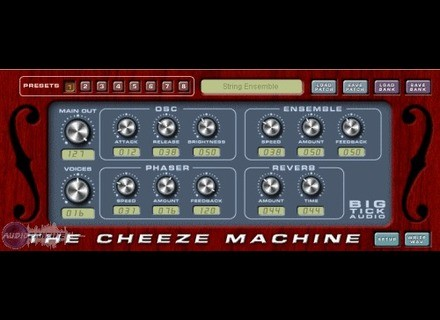 Big Tick Audio Software Cheeze Machine [Freeware]