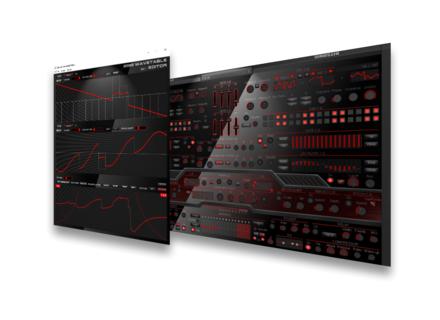 bitsonic wt 01 red synth tiseur virtuel tables d 39 ondes pour windows instrument logiciel. Black Bedroom Furniture Sets. Home Design Ideas