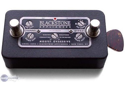 Blackstone Appliances Mosfet Overdrive