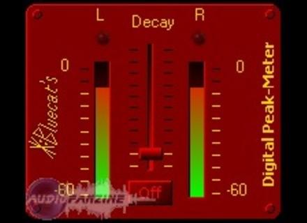 Blue Cat Audio Blue Cat's Digital Peak Meter [Freeware]