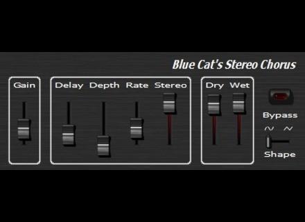 Blue Cat Audio Blue Cat's Stereo Chorus [Freeware]