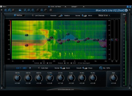 Blue Cat Audio Liny EQ 5