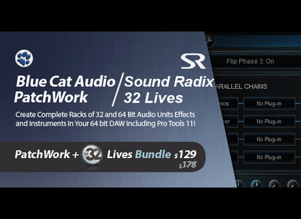 Blue Cat Audio PatchWork + 32 Lives Bundle