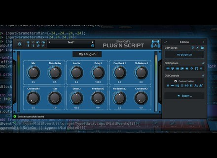 Blue Cat Audio Plug'n Script 3