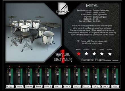 Bluenoise Drummix Metal 1