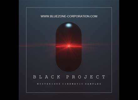 Bluezone Black Project - Mysterious Cinematic Samples