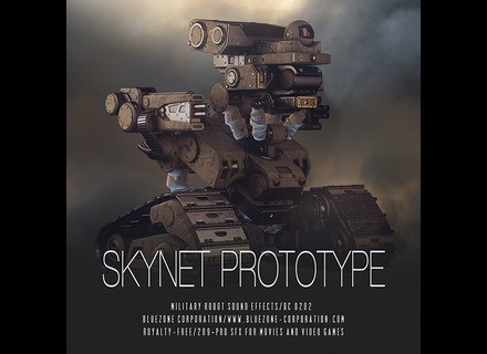 Bluezone Skynet Prototype - Military Robot Sound Effects