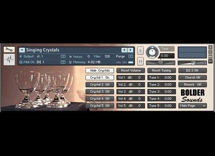 Bolder Sounds Crystal Glasses V2 Kontakt