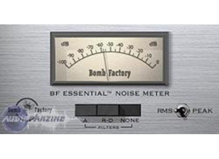Bomb Factory Essential Noise Meter