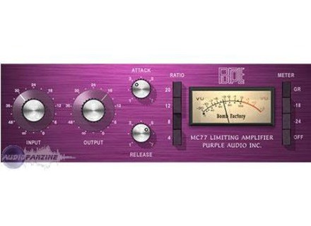 Bomb Factory PURPLE AUDIO MC77