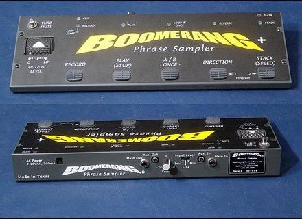 Boomerang Phrase sampler V2+