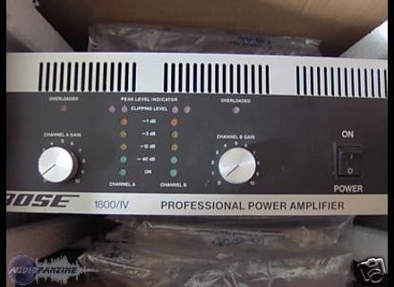 Bose 1800 Series IV