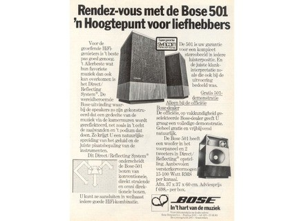 Bose 501 Serie II