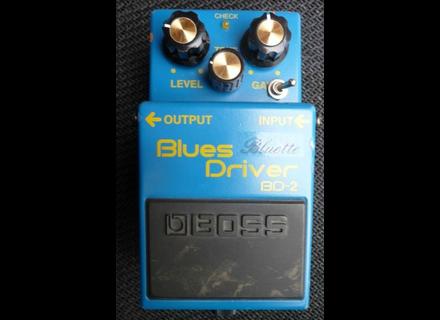 Boss BD-2 - Bluette - Modded by MSM Workshop